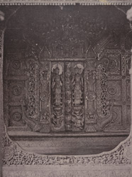 No. 89. Amerapoora. A doorway of Kyoung No. 86 [Maha-too-lo-Bounghian Kyoung].